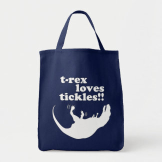 T-Rex Loves Tickles! Tote Bag