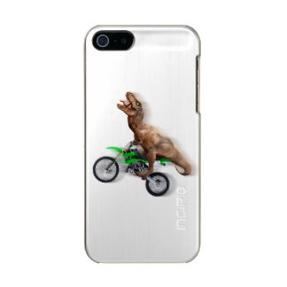 T rex motorcycle - t rex ride - Flying t rex Incipio Feather® Shine iPhone 5 Case