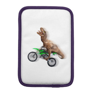 T rex motorcycle - t rex ride - Flying t rex iPad Mini Sleeve