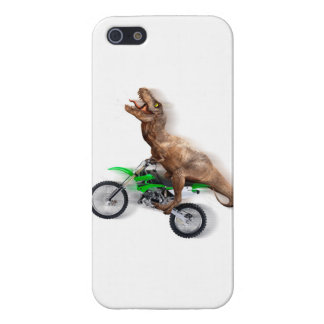 T rex motorcycle - t rex ride - Flying t rex iPhone 5 Cover