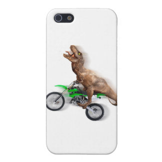 T rex motorcycle - t rex ride - Flying t rex iPhone 5 Covers