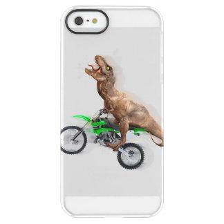 T rex motorcycle - t rex ride - Flying t rex Permafrost® iPhone SE/5/5s Case