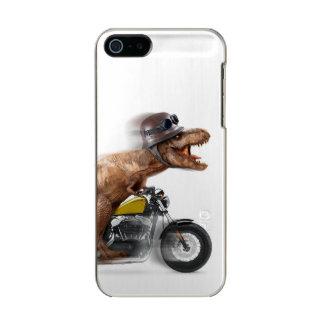 T rex motorcycle-tyrannosaurus-t rex - dinosaur incipio feather® shine iPhone 5 case