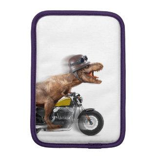T rex motorcycle-tyrannosaurus-t rex - dinosaur iPad mini sleeve