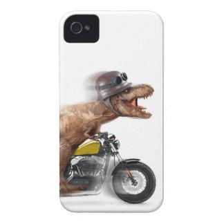 T rex motorcycle-tyrannosaurus-t rex - dinosaur iPhone 4 case