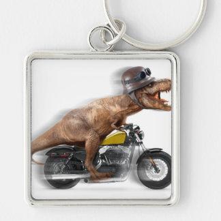 T rex motorcycle-tyrannosaurus-t rex - dinosaur key ring