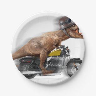 T rex motorcycle-tyrannosaurus-t rex - dinosaur paper plate  sc 1 st  Zazzle & T Rex Meme Gifts on Zazzle AU