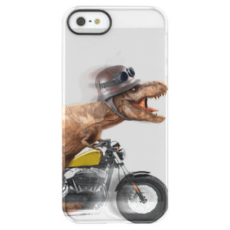 T rex motorcycle-tyrannosaurus-t rex - dinosaur permafrost® iPhone SE/5/5s case
