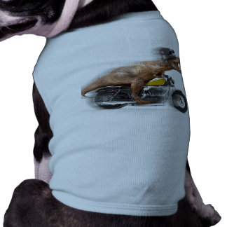 T rex motorcycle-tyrannosaurus-t rex - dinosaur shirt