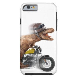 T rex motorcycle-tyrannosaurus-t rex - dinosaur tough iPhone 6 case