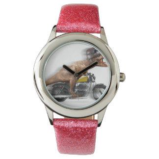 T rex motorcycle-tyrannosaurus-t rex - dinosaur watch