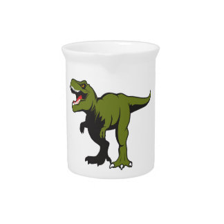 T-Rex Personalized items Pitcher