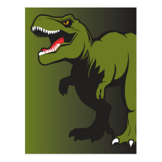 T-Rex Personalized items Postcard