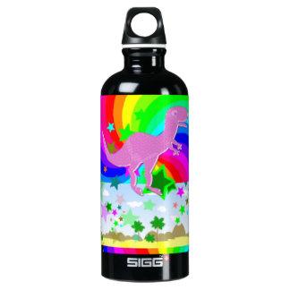 T-Rex Pixel Dinosaur SIGG Traveller 0.6L Water Bottle
