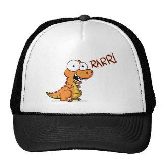 T-rex roaring cap