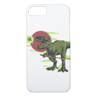 T-Rex Samurai phone iPhone 7 Case