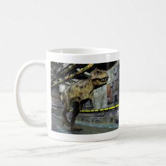 T-Rex Science Fiction Basic White Mug