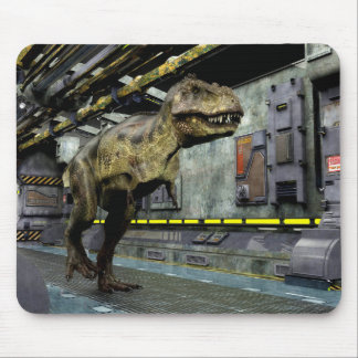 T-Rex Science Fiction Mouse Pad