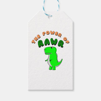T-Rex The Power Of RAWR Gift Tags