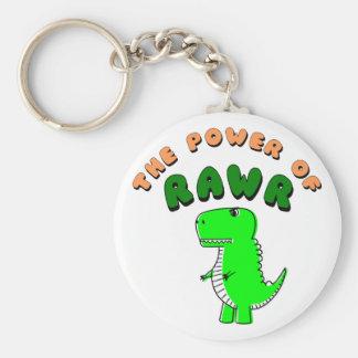 T-Rex The Power Of RAWR Key Ring
