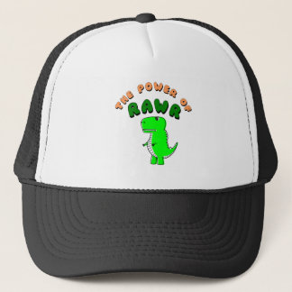 T-Rex The Power Of RAWR Trucker Hat