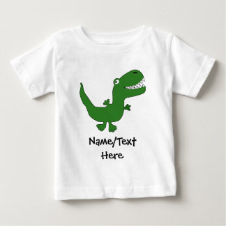 T-Rex Tyrannosaurus Rex Dinosaur Cartoon Kids Boys Baby T-Shirt