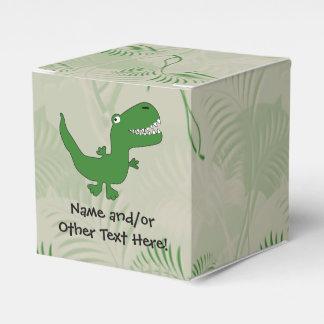 T-Rex Tyrannosaurus Rex Dinosaur Cartoon Kids Boys Party Favor Box