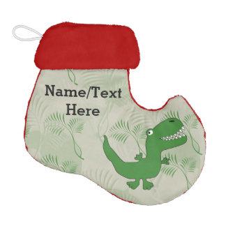 T-Rex Tyrannosaurus Rex Dinosaur Cartoon Kids Boys Elf Christmas Stocking