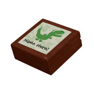 T-Rex Tyrannosaurus Rex Dinosaur Cartoon Kids Boys Jewelry Boxes