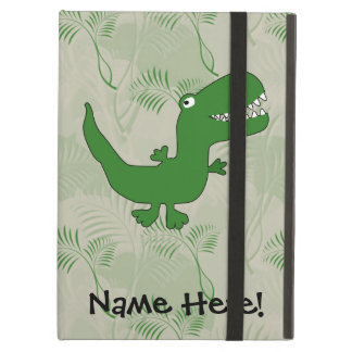 T-Rex Tyrannosaurus Rex Dinosaur Cartoon Kids Boys iPad Air Covers