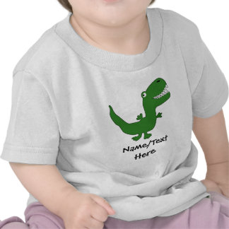 T-Rex Tyrannosaurus Rex Dinosaur Cartoon Kids Boys T Shirt