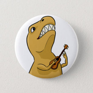 T-Rex Ukulele Button