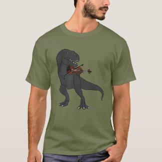 T-Rex Violin T-Shirt