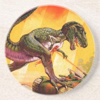 T-Rex vs. Sherman Tank Coaster