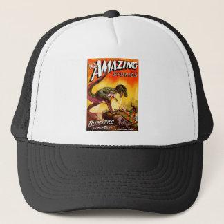 T-Rex vs. Sherman Tank Trucker Hat