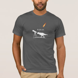T-Rex was a terrible asteroid hunter. T-Shirt