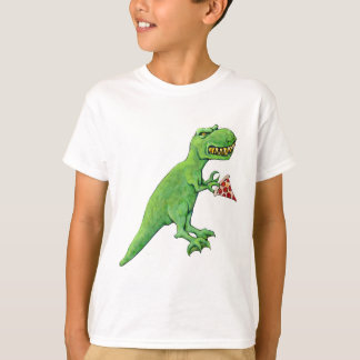 T-Rex with Pizza T-Shirt