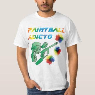 T-shirt Addict Paintball - M1