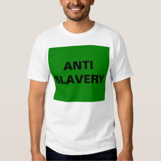 T-Shirt Anti Slavery Green