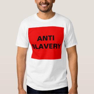 T-Shirt Anti Slavery Red