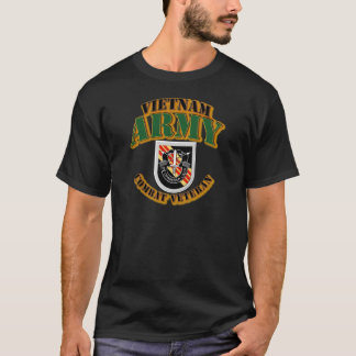T-Shirt - ARMY -  5th SFG  Flash - Vietnam - Comba