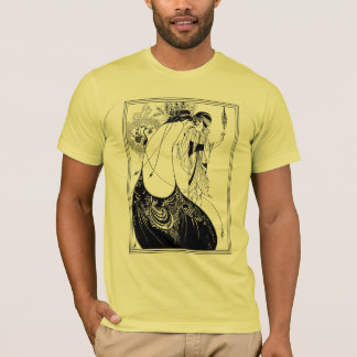 T-Shirt:  Aubrey Beardsley - The Peacock Skirt T-Shirt