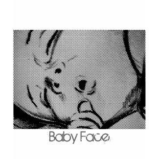 t-shirt Baby Face - customizable shirt