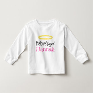 T-shirt baby sting with long sleeves. (Bewerkbaar)
