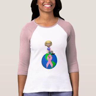 T-Shirt - Battle Breast Cancer Together
