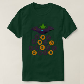 T-shirt Bitcoin UFO Alien