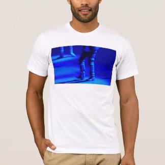 T-shirt Blue Tap Dance Fine Art  reproduction