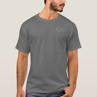 T-shirt. Boldly Be Heard! logo and tag.  (gray/lg. T-Shirt