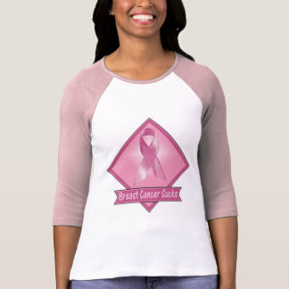 T-Shirt - Breast Cancer Sucks