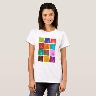 T-shirt Buddha POP Art